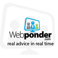 At Webponder.com, visitors can speak with professionals in a variety of different industries, and get the advice or guidance that they need through live video consultations.